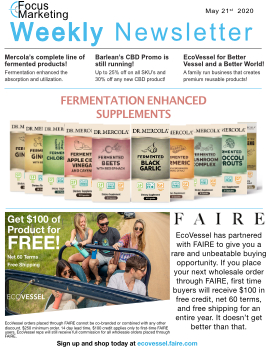 Focus Marketing May 21st, 2020 Weekly Newsletter